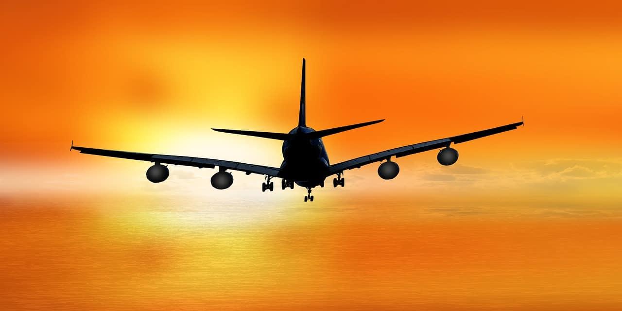 מטוס לפני נחיתה